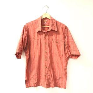 Mountain Hard wear medium button down shirt